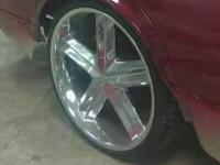 Brand new 24s 100% tire tread on them no curb checks or