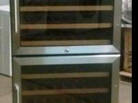 24 Inch Dual Zone Stainless Steel Wine Cellar with