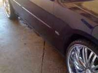 "I have a pair of 24"" Verde Madonna rims i paid a little"