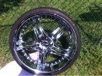 "MK 105 24"" inch wheels/rims 5X127 / 5X5 bolt pattern"