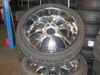 I HAVE SOME 24 INCH WHEELS FOR A 6 LUG CHEVY, GMC,