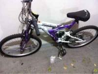 $50 or best offer. Rode once about a mile. Dusty from