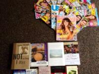 This is a publication and book lot with 24 products for