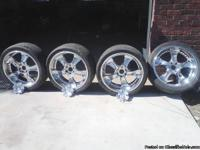 "i have a set of 24"" rims for sale. The rims are in"
