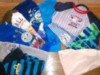 Large lot of summer 24 mo old and 2 year old clothes