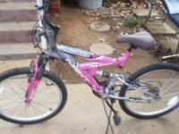 "This is a 24"" Mongoose 18 speed bike POWER CLIMBER with"