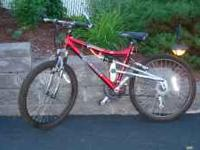 For Sale: 24 inch 21 speed Mongoose Mountain bike.
