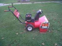 "5HP 24"" ELECTRIC Start MTD Snow Blower. Runs Great!"