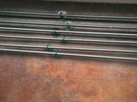 24 pcs of Pottery Barn adjustable IRON DISPLAY RODS,
