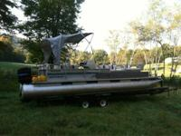 I have a 24 foot pontoon boat in great condition  Seats