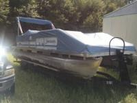 I have a 92 24ft Godfrey sweetwater pontoon with a 94