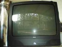 "24"" RCA Color Television. No remote. Works great."