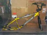 "I have a 24"" Redline Bmx frame that is gold and black"