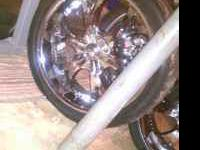 I have for a sale a set of 24 inch BIGG brand Rims and