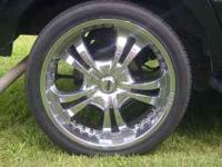 "I have a set of 24"" Tires and rims that fit my Ford"