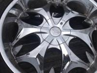 "I have a set of 24"" truck rims and tires chevy 6 lug"