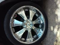 "selling 24"" rims and tire fir $750 obo if interested"