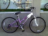 "Schwinn Ranger 2.4fs 24"" Girl's Mountain Bike Quick"