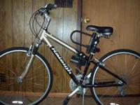 24-Speed Raleigh C-40. Black/Gold. Purchased brand new