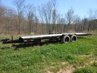 "24' trailer plus the tonge 6' 4"" between fenders two"
