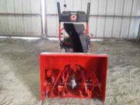 "selling my 24"" troy built snowblower. Bought it new 1"