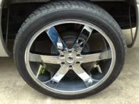 I am selling the wheels off my Chevy Silverado, they