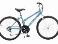"This is a used Huffy 15 speed 24"" womens Tempas"