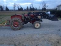 I have a 240 farmall tractor with frontend loader