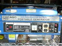 Powered by an efficient gas engine, this generator is