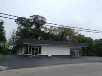 For lease office and retail space on 4 lane road.  This