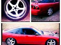 For sale is a 1993 nissan 240sx with a complete right