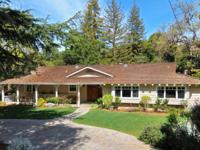 Lovely home located in prestigious Los Altos Hills.