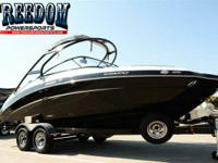 2014 Yamaha Marine 242 Limited S With Painted Trailer