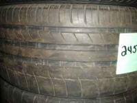 245-40-18. A set of 4. Two different tread patterns