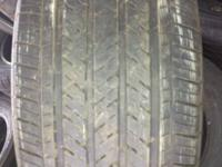 WE HAVE A SET OF 4 GOOD USED 245/40R19 GOODYEAR EAGLE
