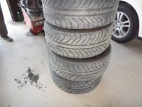 I have a set of 4 mich radial tires off of my vehicle.