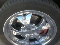 selling a set of 4 tires and wheels that were on a 2007