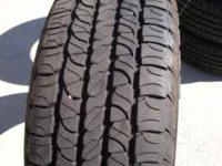 nice nice set of 245/60R18s good year tires will sell