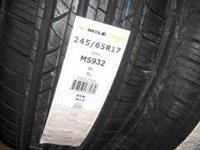 We have 245/65/17 milestar tires on special they are