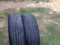 Have a set of 10 ply  245/70/17 have about 50% tread.