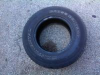 I am selling two used tires. 6/32 tread left. $30 for