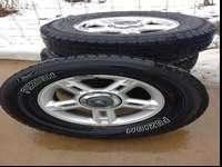 excellent tires and rims without any issues will