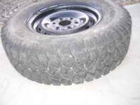 1 - 245/75/16 Goodyear workhorse, 50.00 2 - 205/75/14