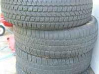 i have a three 245/75/16 goodyear tires that have about