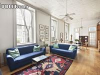 Sunny, bright room in a corner of landmark loft