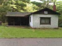 Hunting camp for sale in Endeavor Pennsylvania. The