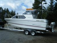 1992 BAYLINER 2452 WITH A 5.0 LITER MERCRUISER ENGINE &