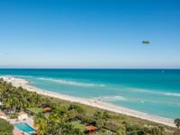 Panoramic oceanfront views. Direct ocean and miles of