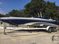 247 Ultra Open Bow Cuddy 2000 boat and trailer for sale