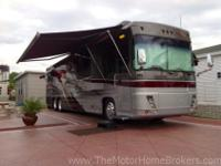 This well-equipped, luxury coach is being offered by